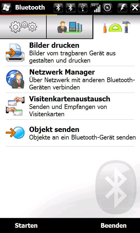Kontaktkarte Per Bluetooth Versenden