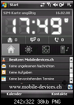 HTC P3470 aka HTC Pharos Review, Testbericht und Bilder-home.png