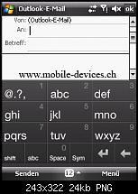 HTC P3470 aka HTC Pharos Review, Testbericht und Bilder-tastatur2.png