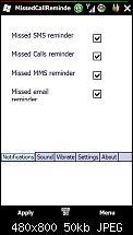 Missed Call Reminder 1.4 Beta [Online]-screen01.jpg