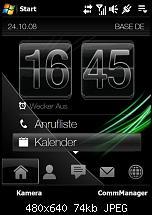 Grüner Hintergrund bei Antippen von Uhr in TF3D-schwarz.jpg