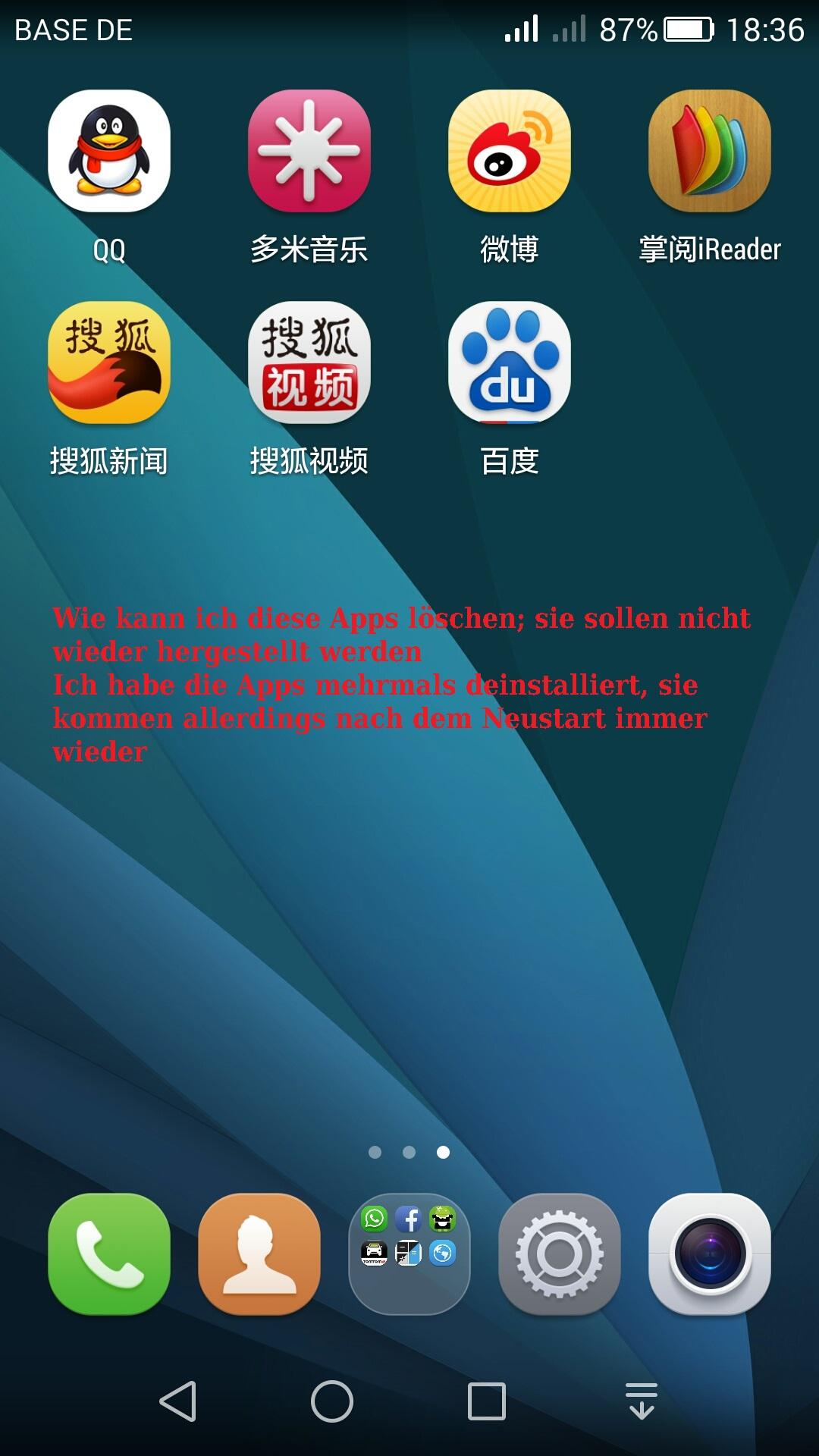 Huawei Honor 6 Chinesiche Apps Löschen Und Chinesiche Schrift
