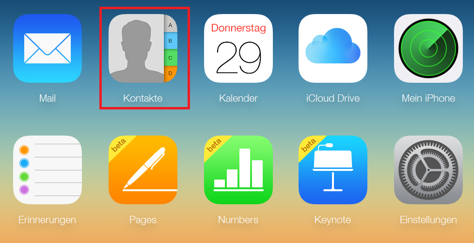 Tutorial: Kontakte aus iCloud exportieren-bild-1.png