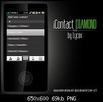 iContact - fingerfreundlicher Kontaktemanager-diamond.screenshot.png