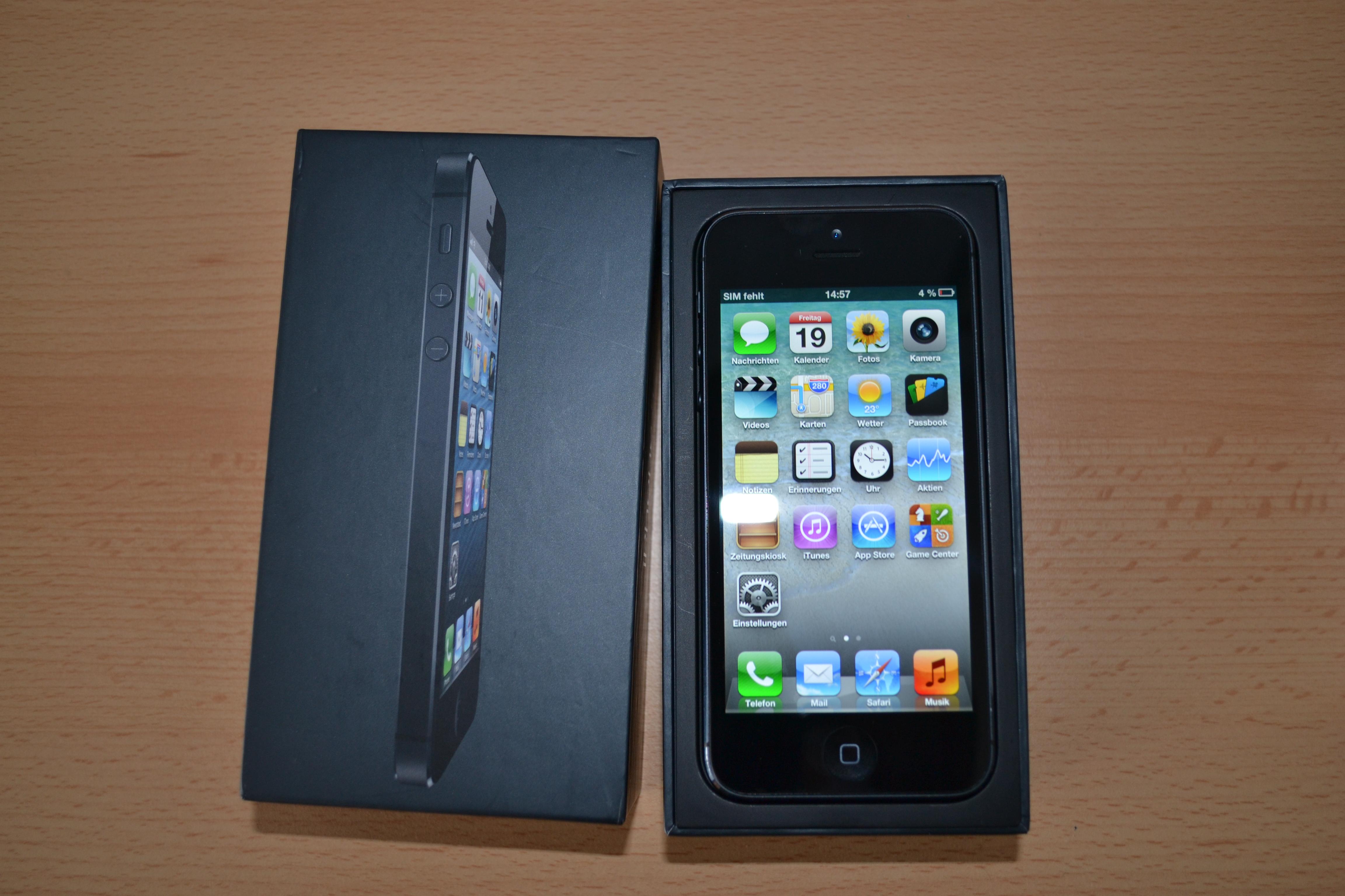 IPHONE 5 32GB NEU