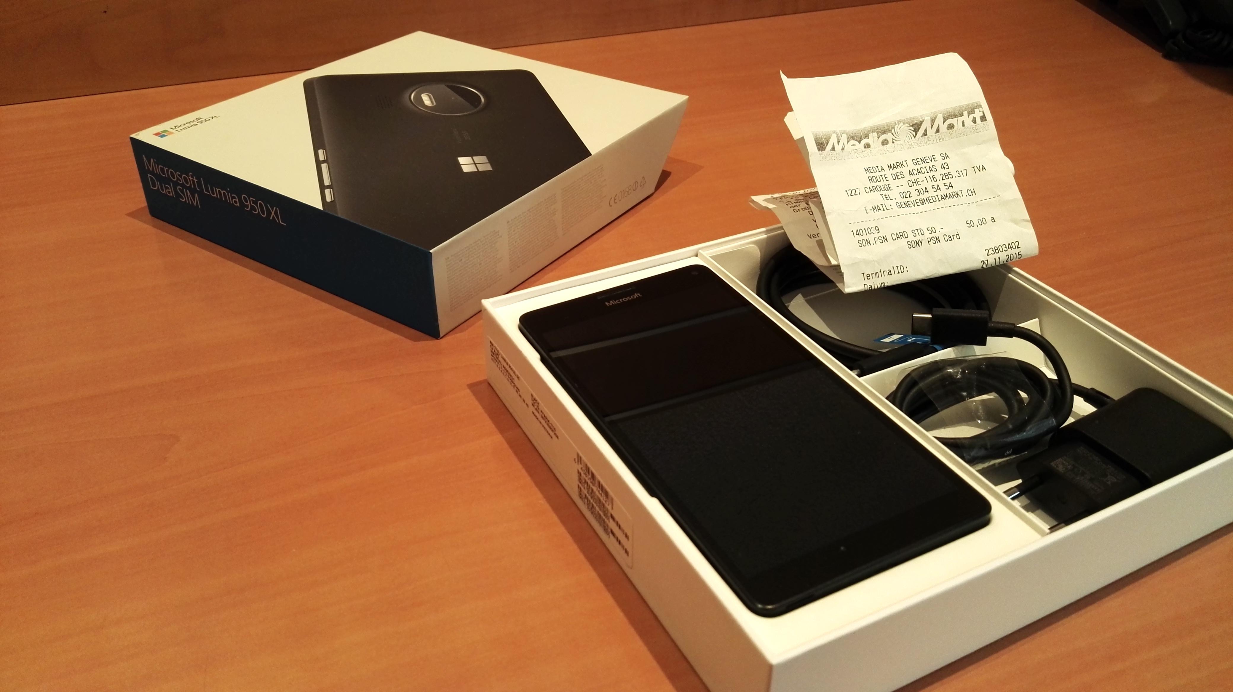 Erledigt Lumia 950 Xl Dual Sim Black