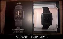 Pebble Steel Smartwatch black mit 2 Armbändern-_72.jpg