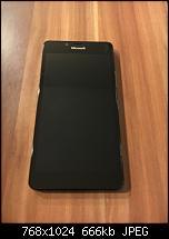 Verkaufe Microsoft Lumia 950 schwarz + Ladekissen weiß - neuwertig --imageuploadedbypocketpc.ch1470695168.912118.jpg