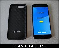 OnePlus 5 Smartphone mit 128GB und original Carbon Cover-bild-1.jpg