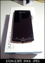 Sony Ericsson Xperia Arc 8GB *Neu* Rechnung-uploadfromtaptalk1336986830985.jpg