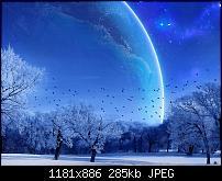 Motorola Milestone Wallpaper / Hintergrundbilder-winterspace.jpg