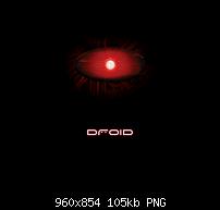Motorola Milestone Wallpaper / Hintergrundbilder-droid-eye.png