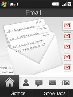 HTC Manila - neues bisher unveröffentlichtes User Interface