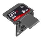 Neue SanDisk Ultra II SDHC Karten
