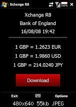 Freeware XChange R8 - Währungsumrechner-main-screen.jpg