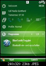 Windows Mobile 6.1 - Sliding Panel einfach konfigurieren-screen01.jpg