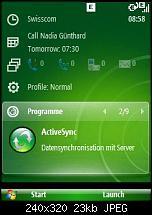 Windows Mobile 6.1 - Sliding Panel einfach konfigurieren-screen02.jpg