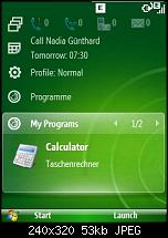 Windows Mobile 6.1 - Sliding Panel einfach konfigurieren-screen08.jpg