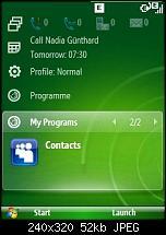 Windows Mobile 6.1 - Sliding Panel einfach konfigurieren-screen09.jpg