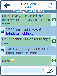 VITO SMS Chat Update