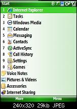 Windows Mobile 6.1 mit 96 statt 131 dpi auf QVGA-startscreen.jpg