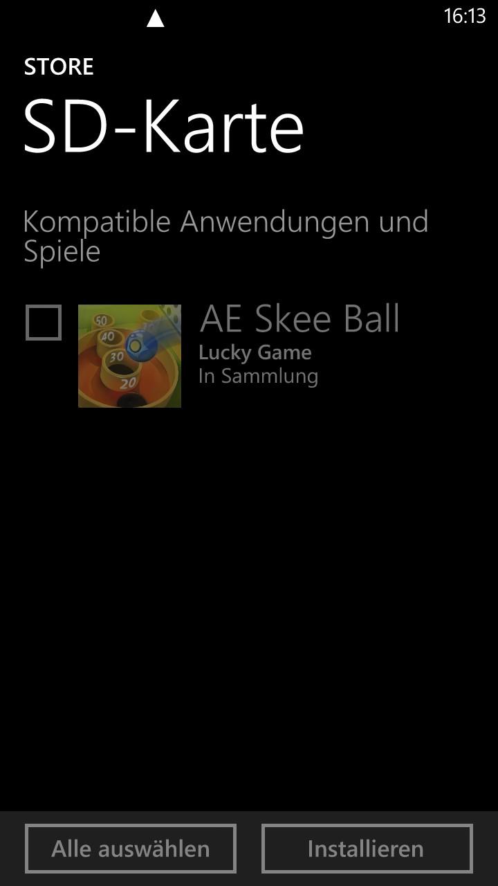 app auf sd karte installieren Apps von SD Karte installieren   klappts?