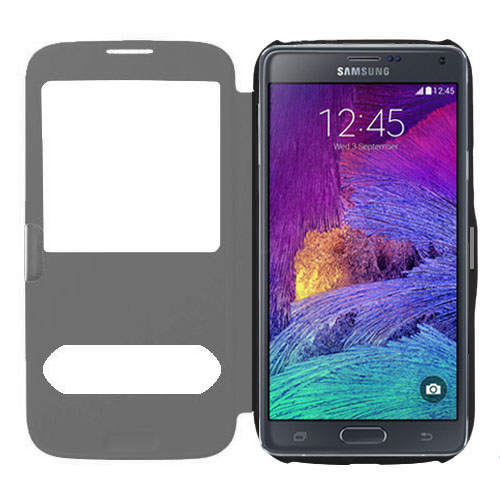 samsung galaxy note 4 s view flip covers cases und schutzh lle. Black Bedroom Furniture Sets. Home Design Ideas