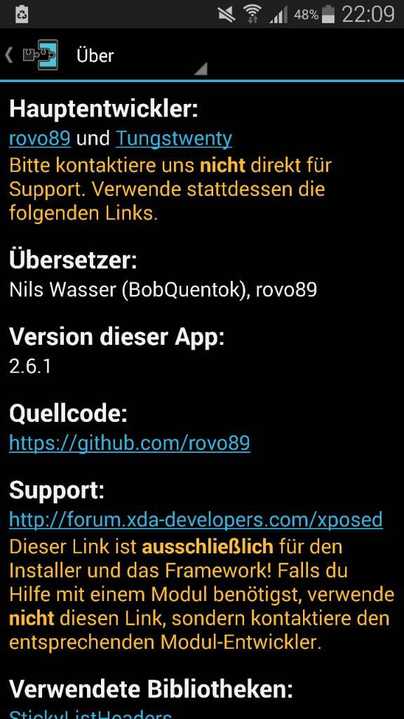 Samsung Galaxy Note 4 - XPOSED Framework [root]