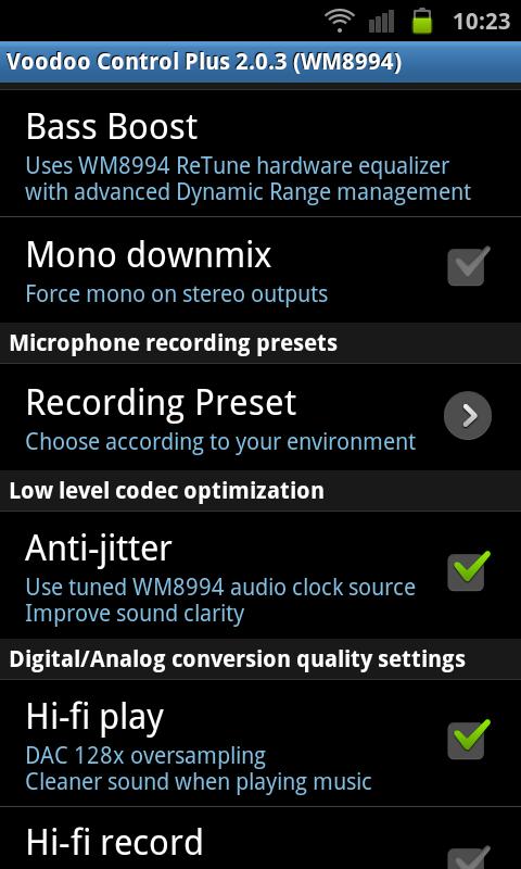 """Voodoo Control Plus App: """" FM Radio"""" -Einstellungen weg-2.0.3.png"""