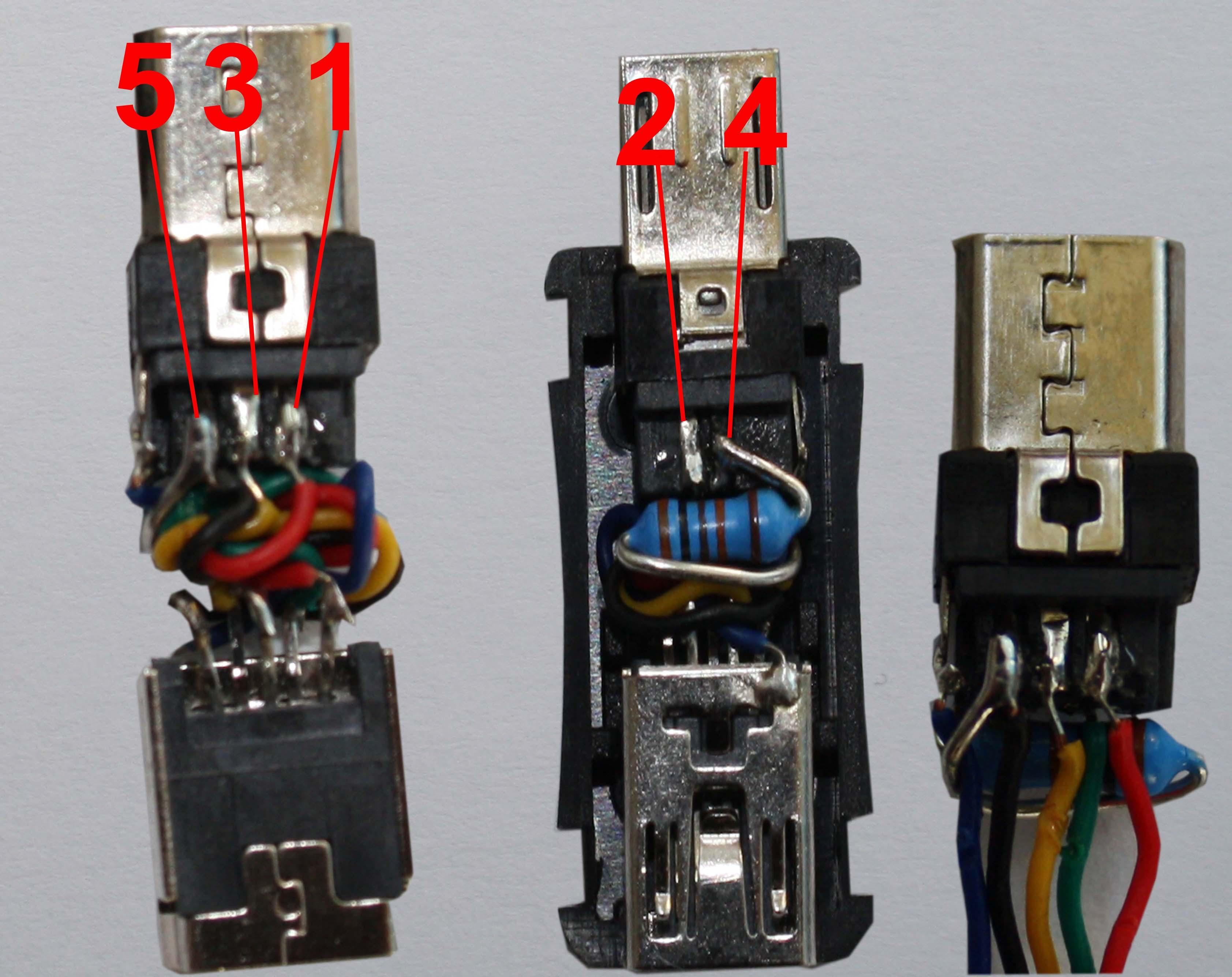 DIY USB Jig для восстановления окирпиченных Android девайсов / Хабр