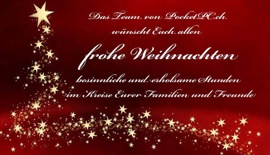 frohe weihnachten euch allen hier auf