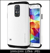 Samsung Galaxy S5 - S-View/Flip Covers, Cases und Schutzhüllen-sa_white_1.jpg