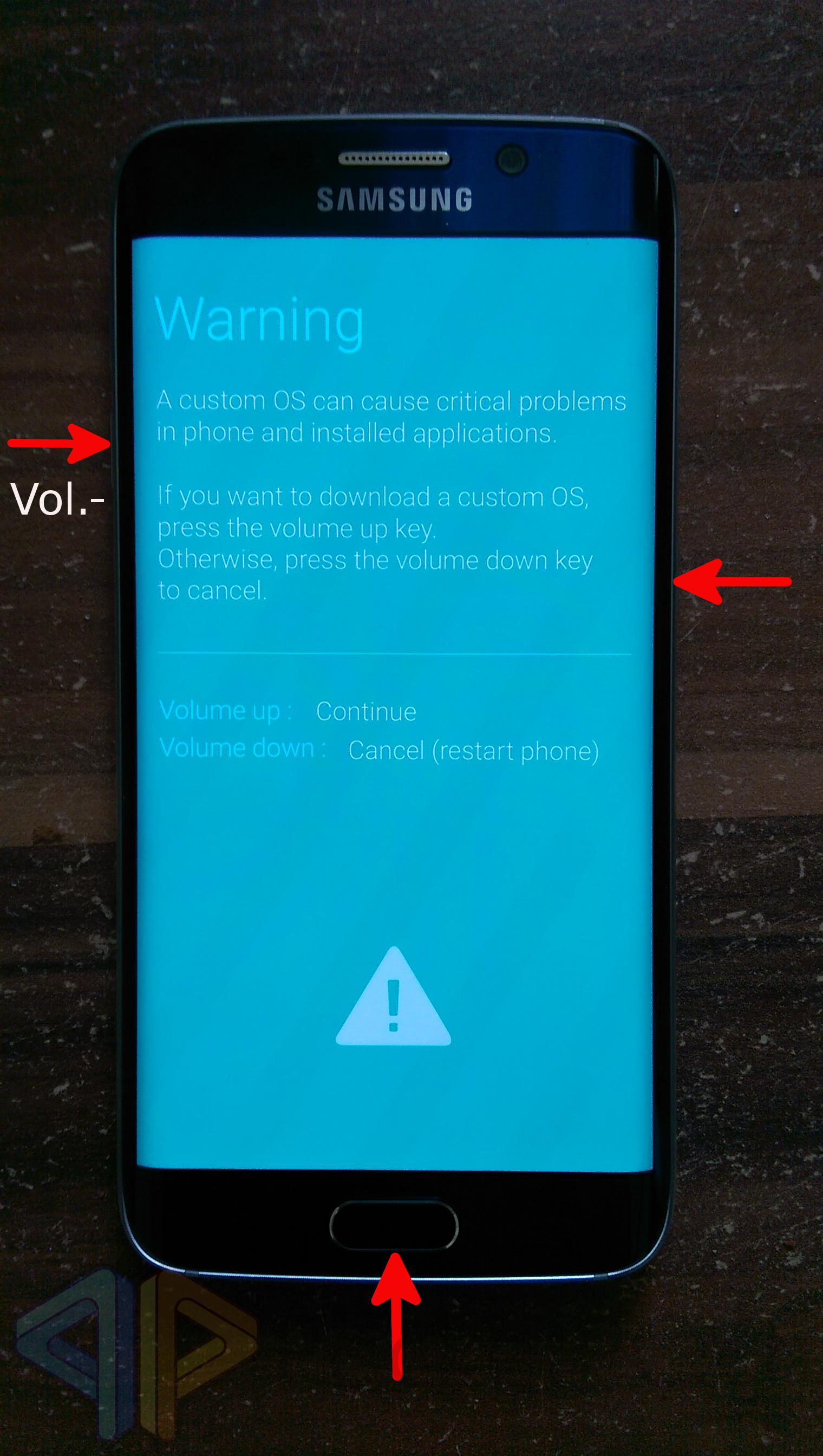 Anleitung] Flashen einer Firmware mit Odin - Samsung Galaxy S7/S7