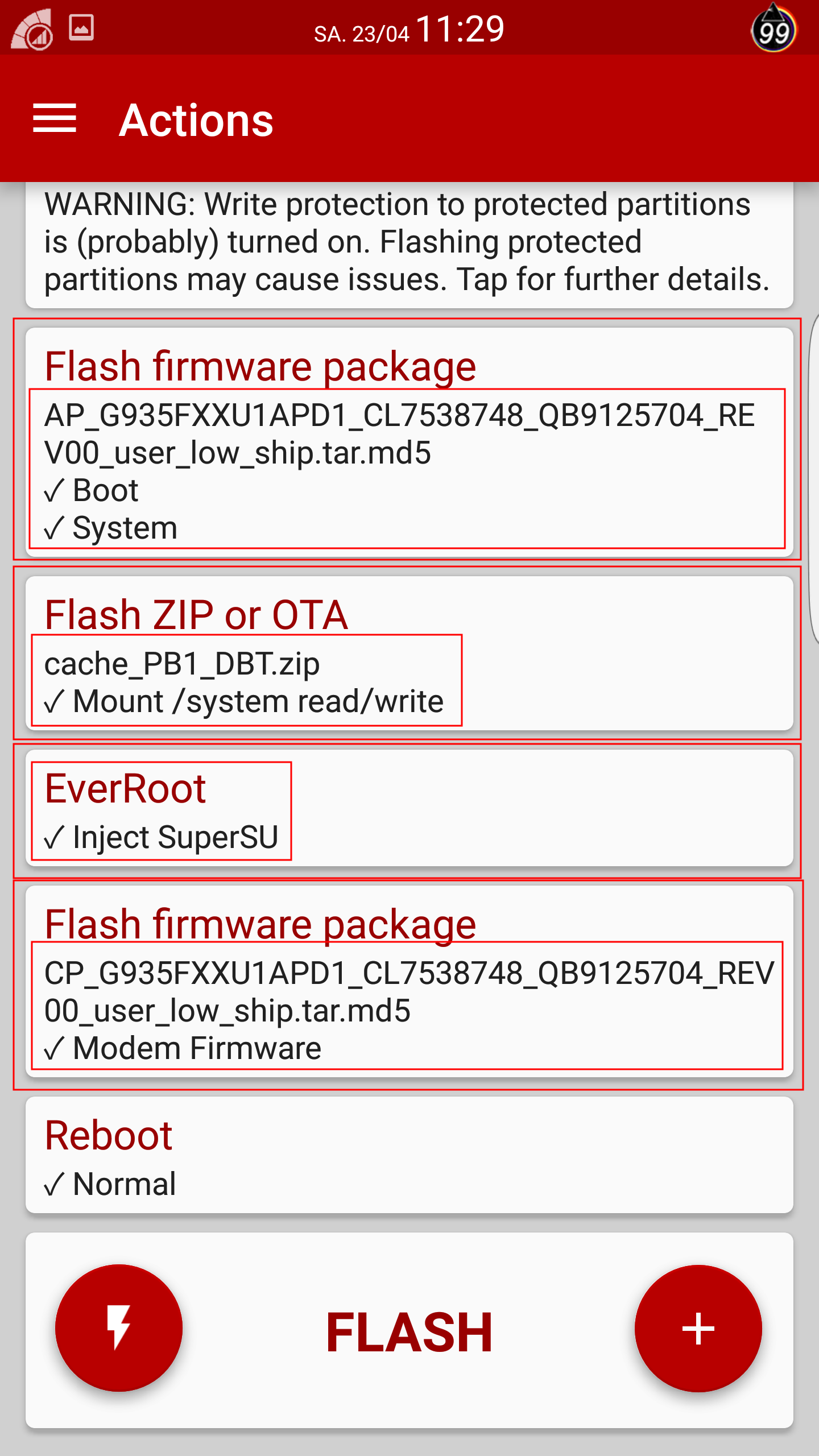 S7 Flash Firmware