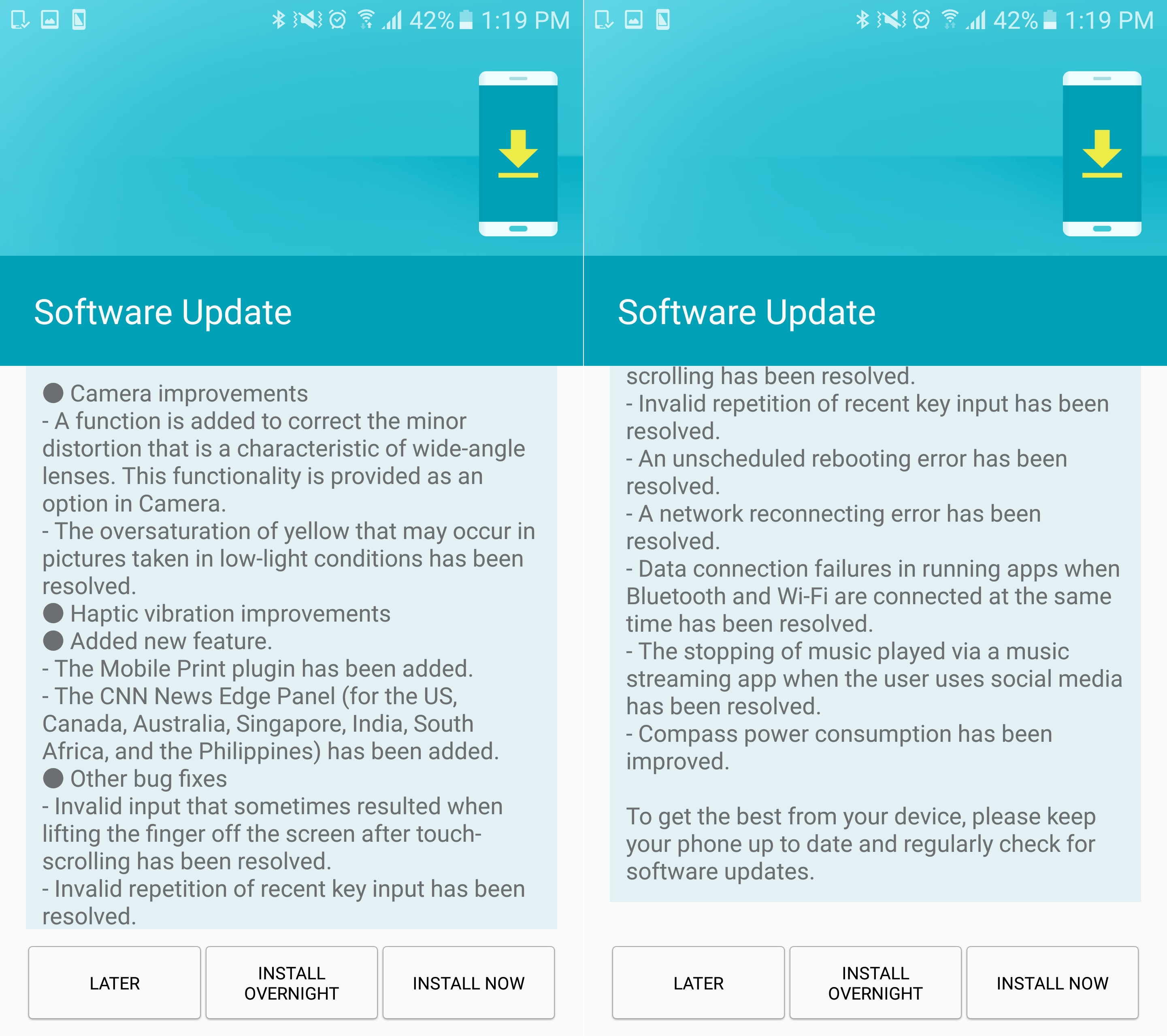 Geonav 7 Software Update