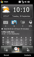 Spb Mobile Shell als Panel beim Xperia X1-41.png