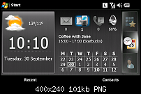 Spb Mobile Shell als Panel beim Xperia X1-43.png