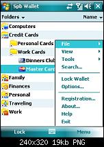 Spb Wallet 1.5 von Spb Softwarehouse-08-folder-view-menu.png