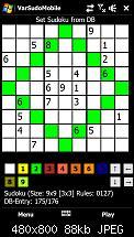 Entwerfe mein erstes WM6 Spiel: Sudoku-ari_ger_screen.jpg