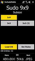 Entwerfe mein erstes WM6 Spiel: Sudoku-screen01.jpg