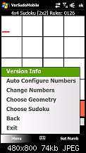 Entwerfe mein erstes WM6 Spiel: Sudoku-screen03.jpg