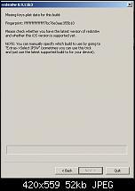 iPhone 3GS Bootloop im Wartungszustand - Experten gefragt-redsnow-fehlermeldung.jpg