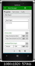 [Appvorstellung] Project REST - Rest Calls einfach verwalten und ausführen-device-shot131655877096532272.png