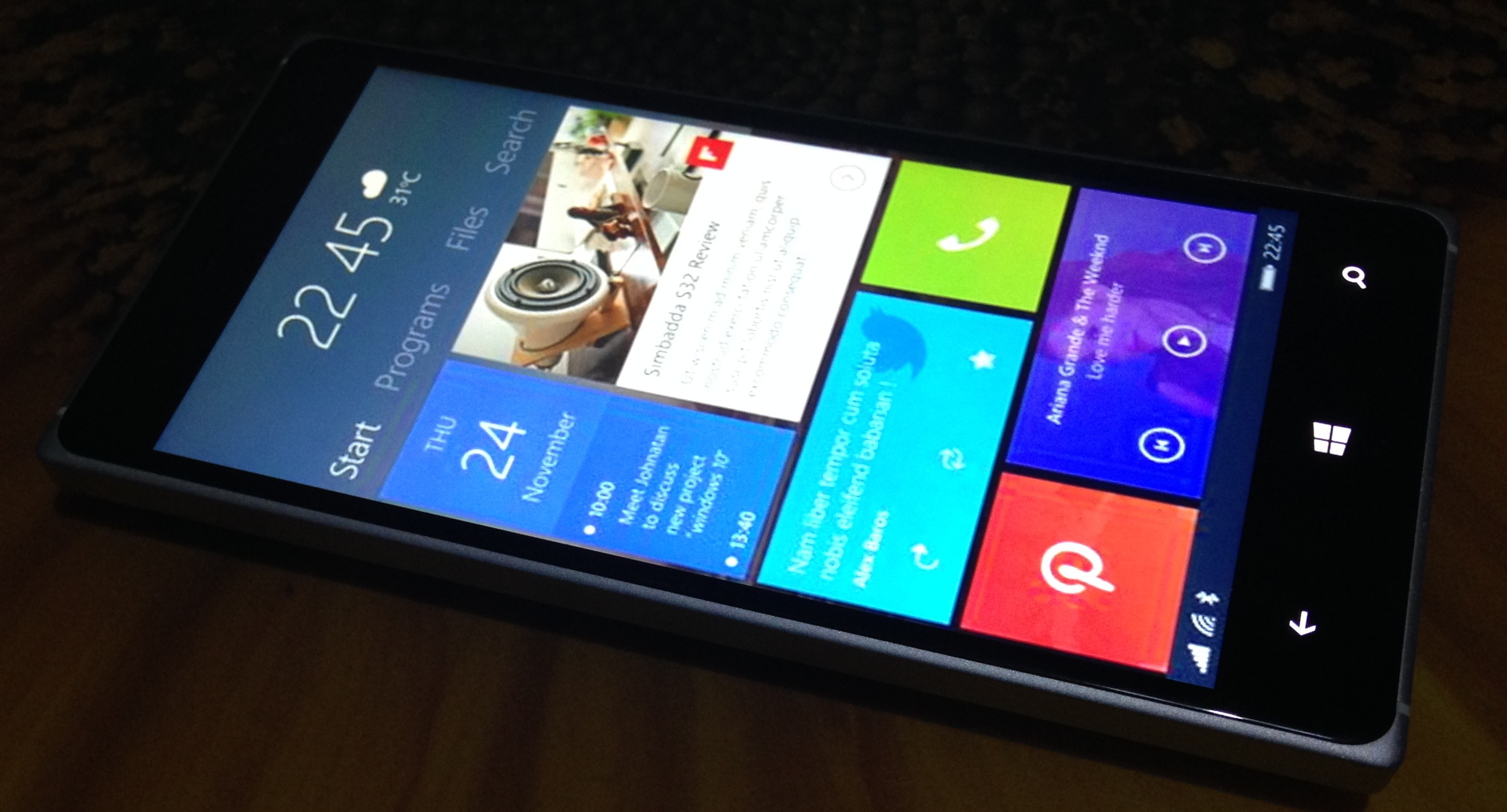 Windows 10 mobile konzept for Latest microsoft windows