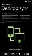 [Appvorstellung][Update] NaviComputer für Windows Phone 8-navimappersync-180x300.png