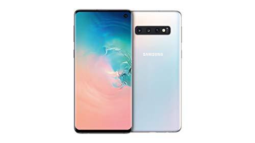 Samsung Galaxy S10 Smartphone (15.5cm (6.1 Zoll) 128 GB interner Speicher, 8 GB RAM, prism white) - [Standard] Deutsche Version