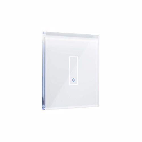 iotty Smart Switch Modell E1 –Einfach-WLAN-Schalter Einfache Installation für die Automatisierung Ihres Hauses – Weiß