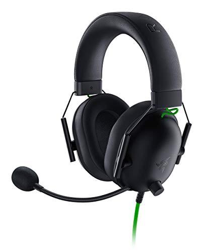 Razer BlackShark V2 X - Premium Esports Gaming Headset (Kabelgebundene Kopfhörer mit 50mm-Treiber, Rauschunterdrückung für PC, Mac, PS4, Xbox One & Switch) Schwarz