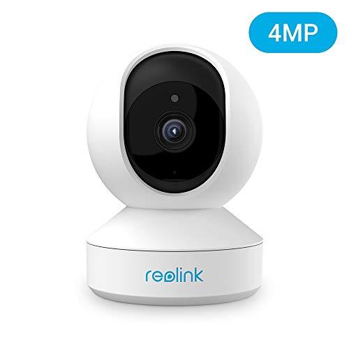 Reolink 4MP IP Kamera Überwachungskamera Innen WLAN schwenkbar, Dualband-WLAN, 2-Wege-Audio, Home und Baby Monitor mit Bewegungserkennung, E1 Pro