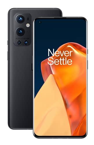OnePlus 9 Pro 5G SIM-freies Smartphone mit Hasselblad-Kamera für Smartphones - Stellar Black 8GB RAM 128 GB - 2 Jahre Garantie